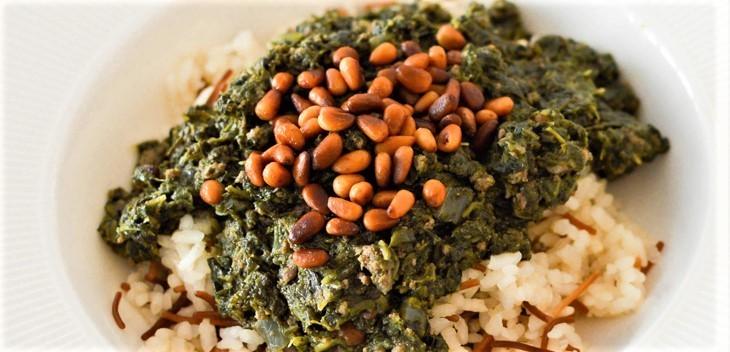 Lebanese Spinach Stew