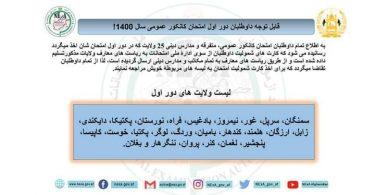 Afghanistan Kankor