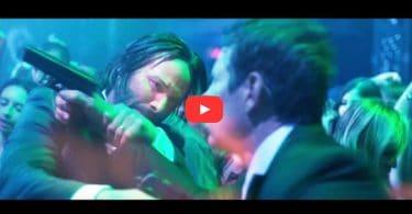 John Wick Fight scene in Red Circle Night Club